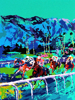 Santa Anita 1979 and Book of Horses Limited Edition Print by LeRoy Neiman