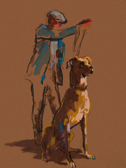 Great Dane 1987 Limited Edition Print by LeRoy Neiman