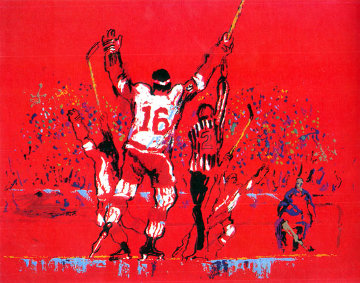 Red Goal 1973 Limited Edition Print - LeRoy Neiman