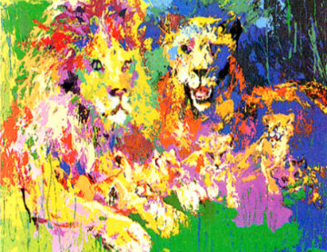 Lion's  Pride 1973 Limited Edition Print by LeRoy Neiman