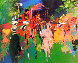 Queen At Ascot 1976  (The Pink Queen) Limited Edition Print by LeRoy Neiman - 0