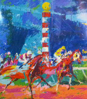 Clubhouse Turn Limited Edition Print - LeRoy Neiman