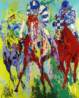 Finish 1974 Limited Edition Print - LeRoy Neiman