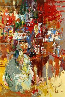 Grenadier Bar 2011 Limited Edition Print - LeRoy Neiman