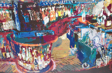 Rush Street Bar Chicago 1984 Limited Edition Print by LeRoy Neiman