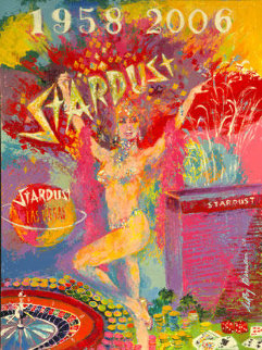 Stardust Reflections 2006 Las Vegas Limited Edition Print by LeRoy Neiman