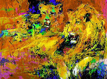 Royal Family 1996 Limited Edition Print by LeRoy Neiman