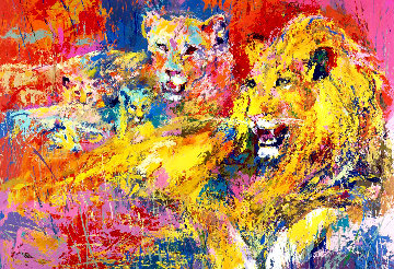 Royal Family 1996 Limited Edition Print - LeRoy Neiman