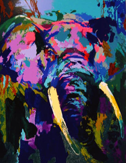 Portrait of the Elephant PP 2003 Limited Edition Print by LeRoy Neiman