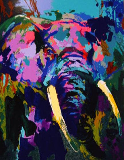 Portrait of the Elephant PP 2003 by LeRoy Neiman
