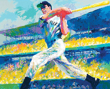 DiMaggio Cut 1998 Limited Edition Print by LeRoy Neiman