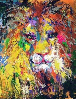 Portrait of the Lion AP 2002 Limited Edition Print by LeRoy Neiman