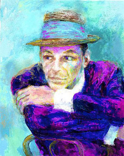 Frank Sinatra (The Voice) 2002 Limited Edition Print - LeRoy Neiman