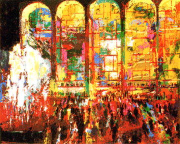 Metropolitan Opera 1980 Limited Edition Print by LeRoy Neiman
