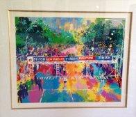 New York Marathon 1980 Limited Edition Print by LeRoy Neiman - 1