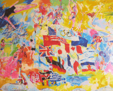 Montreal '76 1976 Limited Edition Print by LeRoy Neiman