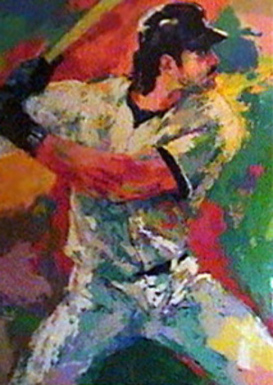 Mike Piazza AP 2000 Limited Edition Print by LeRoy Neiman