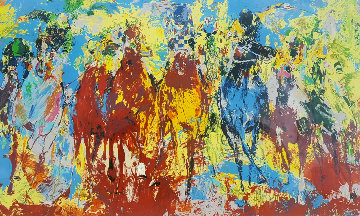 Stretch Stampede 1979 Limited Edition Print by LeRoy Neiman