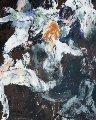 Twist a La Chez Regine 1961 Original Painting - LeRoy Neiman