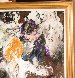 Twist a La Chez Regine 1961 Original Painting by LeRoy Neiman - 9