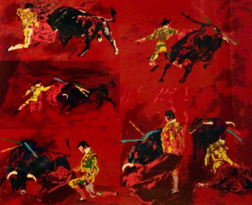 Red Corrida 1974 Limited Edition Print by LeRoy Neiman