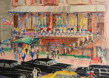 21 Club, New York 1990 Limited Edition Print by LeRoy Neiman