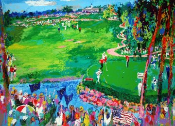 Ryder Cup Valhalla 2008 Limited Edition Print by LeRoy Neiman