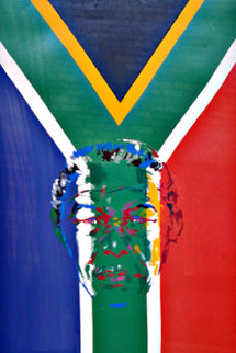 President Nelson Mandela 1997 Limited Edition Print by LeRoy Neiman