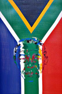 President Nelson Mandela 1997 Limited Edition Print - LeRoy Neiman