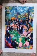 Baccarat 1994 Limited Edition Print by LeRoy Neiman - 2