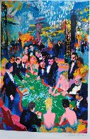 Baccarat 1994 Limited Edition Print by LeRoy Neiman - 1