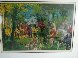 Chateau Hunt AP 1979 Limited Edition Print by LeRoy Neiman - 2