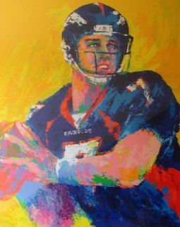 John Elway 1999 Limited Edition Print by LeRoy Neiman