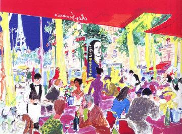 Chez Francis 1997 Limited Edition Print - LeRoy Neiman