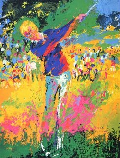 Tee Shot - Jack Nicklaus 1973 Limited Edition Print by LeRoy Neiman