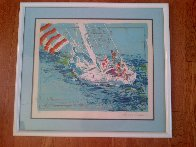 Nantucket Sailing 1980 Limited Edition Print by LeRoy Neiman - 2