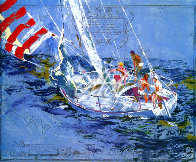 Nantucket Sailing 1980 Limited Edition Print by LeRoy Neiman - 0