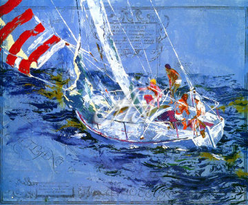 Nantucket Sailing 1980 Limited Edition Print - LeRoy Neiman