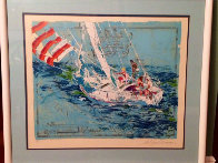 Nantucket Sailing 1980 Limited Edition Print by LeRoy Neiman - 1