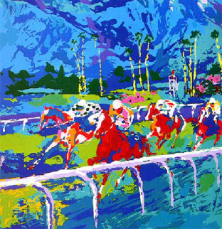 Santa Anita 1979 Limited Edition Print by LeRoy Neiman