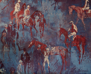 Untitled Horses Poster 1981 HS Limited Edition Print - LeRoy Neiman