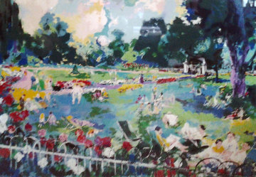 Regents Park London 1984 Limited Edition Print by LeRoy Neiman