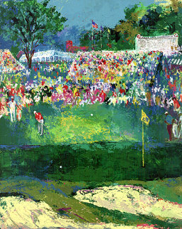 Bethpage Black Course 2002 US Open Limited Edition Print by LeRoy Neiman