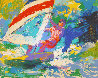 Wind Surfer 1973 Limited Edition Print by LeRoy Neiman - 0