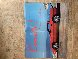 Corvette Hood Original Painting on 1984 Hood Original Painting by LeRoy Neiman - 1