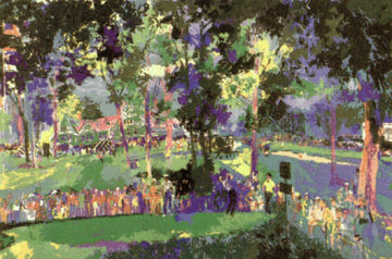 U S Open Oakmont 1983 Limited Edition Print by LeRoy Neiman