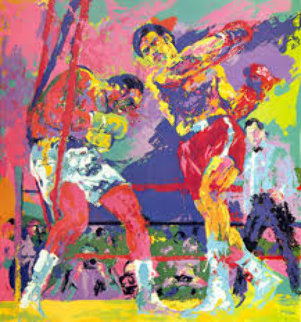 Frazier - Forman Jamaica 1974 Limited Edition Print - LeRoy Neiman