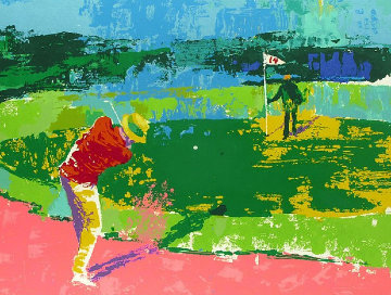 Chipping on AP 1972 Limited Edition Print by LeRoy Neiman
