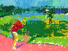 Chipping on AP 1972 Limited Edition Print by LeRoy Neiman - 1
