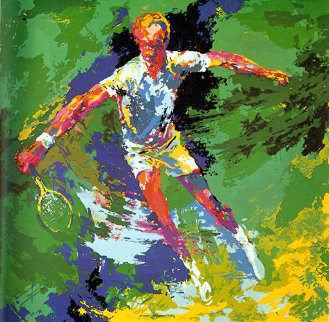 Stan Smith AP 1973 Limited Edition Print by LeRoy Neiman